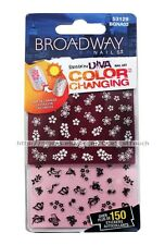 BROADWAY NAILS Fashion Diva COLOR CHANGING 150+ Nail Art Stickers #53129 1/2