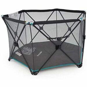 6 Panel Foldable Mesh Children Baby Play Pen - Play Yard + Bag Indoor - Outdoor
