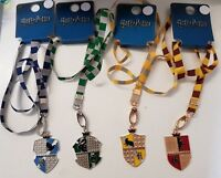 New Harry Potter Lanyards Slytherin Gryffindor Ravenclaw Hufflepuff Primark