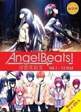 JAPAN ANIME DVD BOX SET ANGEL BEATS ! VOL 1-13 END FREE SHIPPING