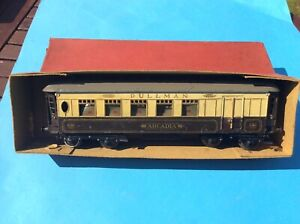 Boxed Vintage Hornby No 1 O Gauge Pullman Passenger Coach