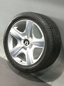 """BENTLEY CONTINENTAL GT AND FLYING SPUR GENUINE 19"""" ALLOY WHEELS"""