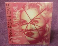 MADONNA Living For Love CD Single Edition limitee Ukraine très rare neu