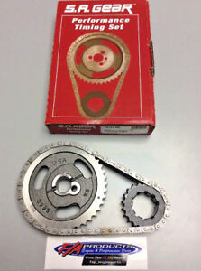 Ford 302 351 Windsor 1972 - 2002 Engine .250 Roller Timing Set S.A. GEAR 78151-9