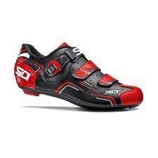 SIDI Level Road Cycling Shoes Bike Shoes Black/Red/White Size 36-46 EUR