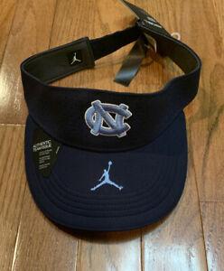 Mens UNC North Carolina Tar Heels Nike Jordan Jumpman Sideline Visor Cap Hat NWT