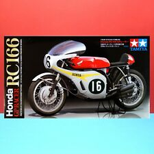 Tamiya 1/12 Honda RC166 GP Racer [1/12 Motorcycle Series] model kit #14113