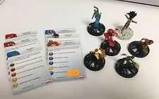 Marvel HeroClix- Inhumans LOT of 6 HX53