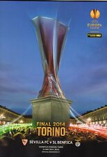 2014 UEFA EUROPA LEAGUE FINAL-Benfica vs Sevilla-Offizielles Programm