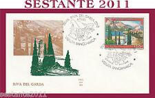 ITALIA FDC ALA 524 RIVA DEL GARDA ANNULLO RIVA DEL GARDA TN 1981 H339