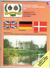 PRG   EM der Polizei 1989  ENGLAND/DEUTSCHLAND/DÄNEMARK