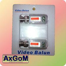 Video Balun - Paar - twisted pair Videoübertragung - CCTV - Schraubklemmen