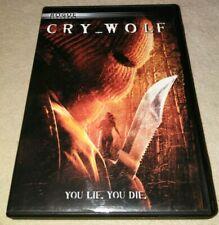Cry Wolf (Full Screen PG-13) DVD HORROR