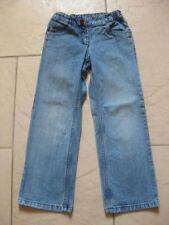 Jeanshose Jeans Kinderhose mit Glitzersteinen an der Tasche, Hose  Gr.122  getr.