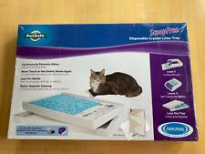 PetSafe Pac00-14229 Scoop Free Disposable Crystal Litter Tray & Lid