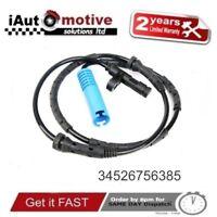 Bmw Mini One Cooper S Rear ABS Wheel Speed Sensor R50 R52 R53 34526756385