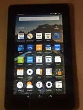 "Amazon Kindle Fire 7""  5th  Model SV98LN Tablet  8GB"