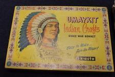 Vintage Native American Indian Headdress War Bonnet Kit