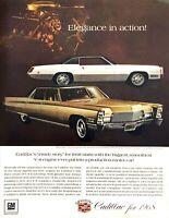 1968 Cadillac Fleetwood Eldorado & Brougham photo Inside Story vintage print ad