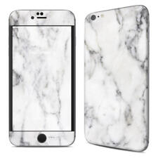 iPhone 6 Plus/6S Plus Skin - White Marble - Sticker Decal - 5.5in