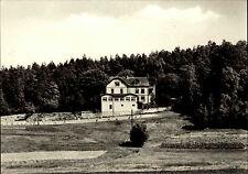 HETZDORF Kr. Freiberg Sachsen DDR Postkarte Partie am Bergschlösschen ungelaufen