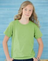 100 Blank Gildan Youth Heavy Cotton T-Shirt Bulk Lot ok to mix XS-XL Colors Kids