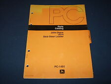 JOHN DEERE JD14 SKID STEER LOADER PARTS CATALOG BOOK MANUAL PC-1491