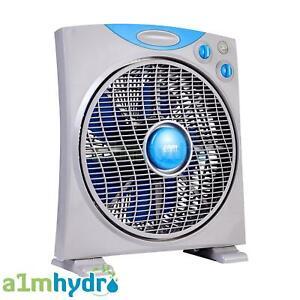 RAM 12 Inch 300mm 3 Speed Oscillating Eco Box Fan Hydroponics
