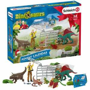 Schleich 2020 Dinosaurs Advent Calendar with Figures and Accessories