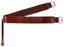 Brown Leather Western Back Cinch Girth Rear Flank Cinch Saddle Flank Cinches