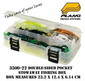Plano 3500-22 Stowaway Double Sided Fishing Box 9 - 23 adjustable compartments