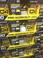Cellucor C4 Pre-Workout Kit with Shaker Cup, Wild Fruit Blast, 90 Servings ~NEW~