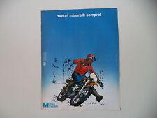 advertising Pubblicità 1975 MOTO MOTORI MINARELLI  SEMPRE