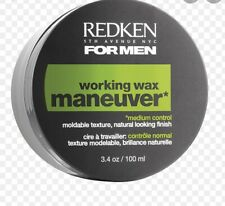 Redken working wax Maneuver Hair Styling for Men 98g 3.4 oz