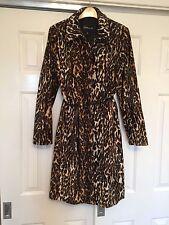 Faux Fur Camouflage Button Coats & Jackets for Women