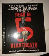 Hells Angels Sonny Barger's 'Dead in 5 Heartbeats' movie 2 Disk DVD SIGNED