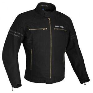 Richa Custom Retro Cruiser Textile Waterproof Ladies Jacket - Black RRP £149