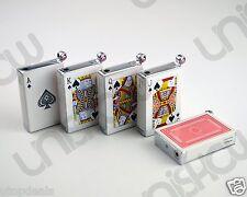 Novelty Poker Card Deck Shocking Lighter with Real Flame - 1 pc Random Ship