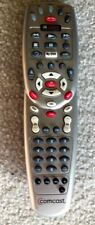 PERFECT COMCAST CABLE BOX / DVR REMOTE CONTROL (SILVER WITH RED SELECT BUTTON)