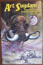 Art Suydam Fantasy Art Trading Cards Sell Sheet/Poster (no cards) 1995