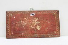 Antique Old Jain Temple Hand Both Side Painted Original Book Cover Case NH1693