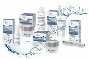 Ava-HYDRO LASER-Day/Night Cream-MASK 2in1-Eye contour in ROLL-ON-Face SERUM