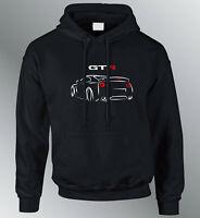 Nissan Skyline GTR inspired Personalised Hoodie Godzilla R34 Drift muscle  Black