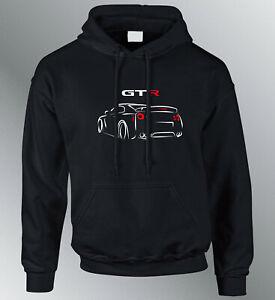 Sweat Shirt Hoodie GTR S M L XL XXL Auto Hoodie Sweatshirt Sweater Line