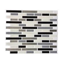 3D Tile Pattern Wallpaper Modern Wall Background LivingRoom Kitchen J3R4