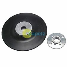 "115mm Plastic Backing Disc M14 Thread Back Pad, For 4 1/2"" Angle Grinder Sander"