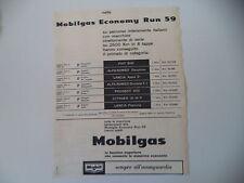 advertising Pubblicità 1959 MOBILGAS MOBIL GAS