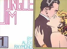 Jungle Jim by Paul Norris Sundays in sequence 1942 to 1945, color ,oblong size