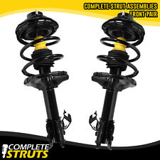 Front Complete Struts & Coil Springs w/ Mounts Pair For 2000-2001 Nissan Altima