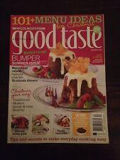 Australian Good Taste Magazine Dec 2006 Christmas Summer Issue